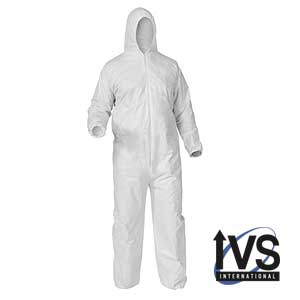 Disposable Poly Coveralls
