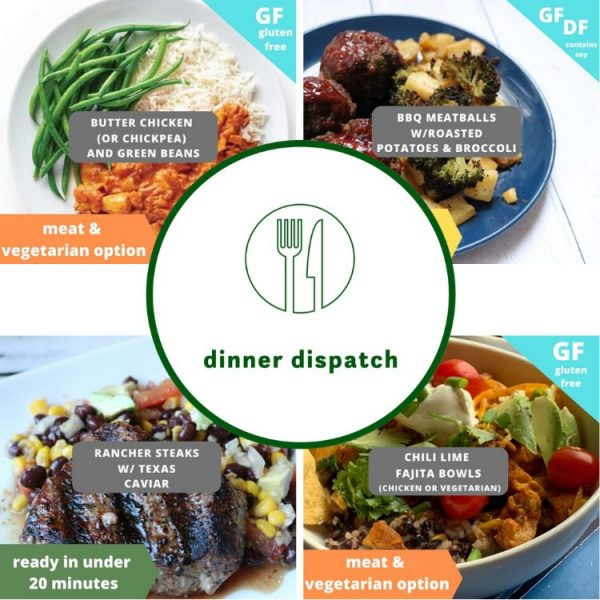 Dinner Dispatch Des Moines Area Ames Meal Prep and Delivery