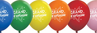 Grand Re-Opening Balloons - 11 inch